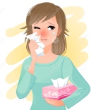 watery-eyed-woman-holding-facial-tissue-box-28854831